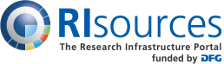 Logo: RIsources - back to Homepage